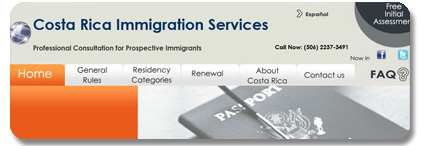 Immigration Services in Costa Rica